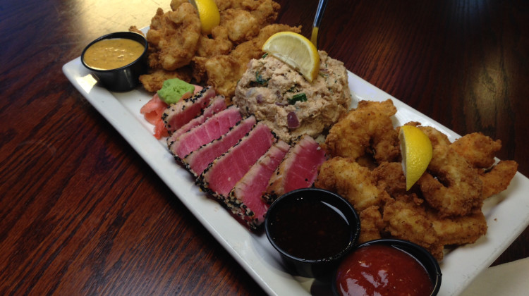 O'QUIGLEY'S MEANS  STEAMED, FRIED, BLACKENED & SEARED SEAFOOD AT IT'S BEST