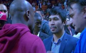 Floyd Mayweather Jr vs Manny Pacquiao @ Mayweather vs Pacquiao | Destin | Florida | United States